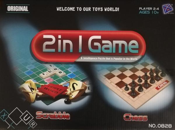 2 in 1 Scrabble si Sah [0]