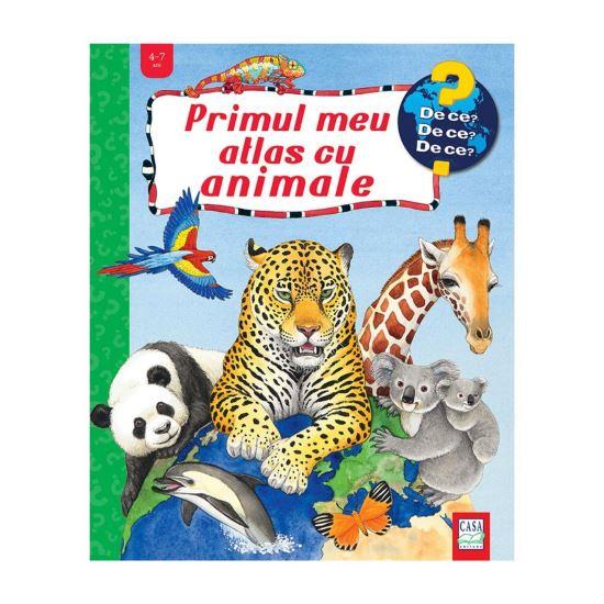 Primul meu atlas cu animale de Andrea Erne [0]