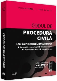 Codul de procedura civila de Dan Lupascu 0