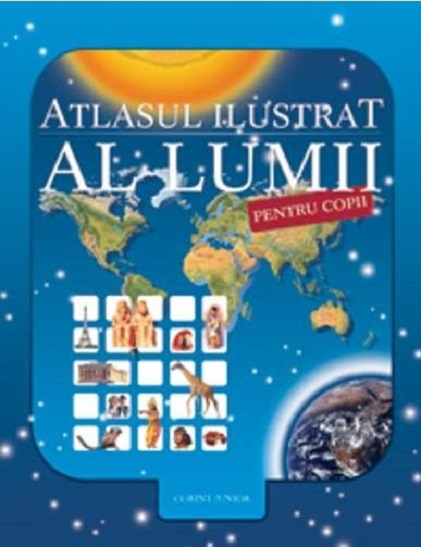 Atlasul ilustrat al lumii pentru copii de Nicholas Harris [0]