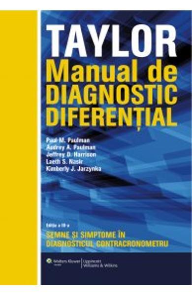 Manual de diagnostic diferential. Taylor de Paul M. Paulman 0