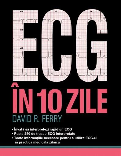 ECG in 10 zile de David R. Ferry 0