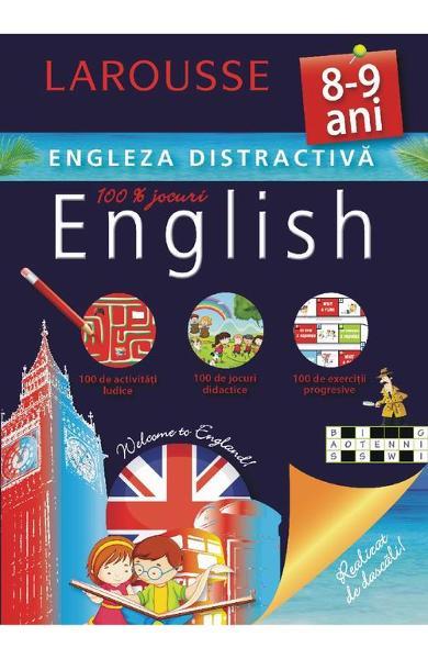 Larousse - Engleza distractiva 8-9 ani 0
