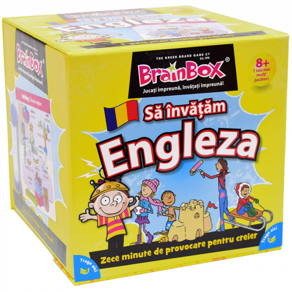 BrainBox Sa invatam engleza Ludicus 0