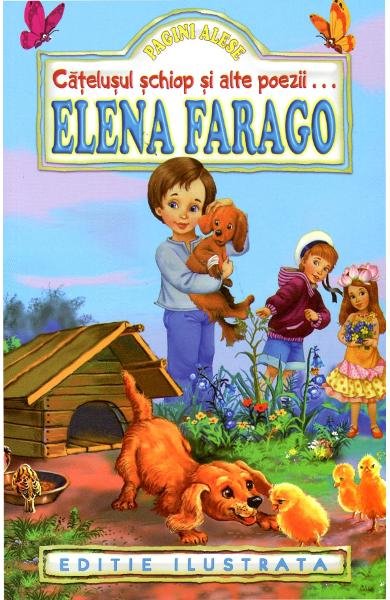 Catelusul schiop si alte poezii de Elena Farago 0