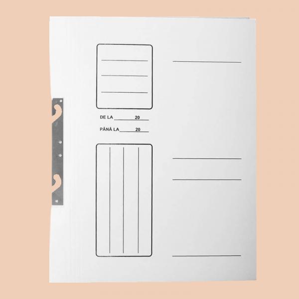 Dosar carton 1/1 alb SD 0