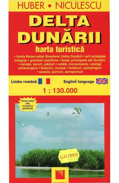 Delta Dunarii - Harta Turistica 0