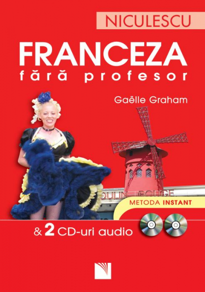 Franceza fara profesor + 2 CD-uri audio de Gaelle Graham 0