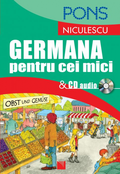 Germana pentru cei mici + CD Audio 0