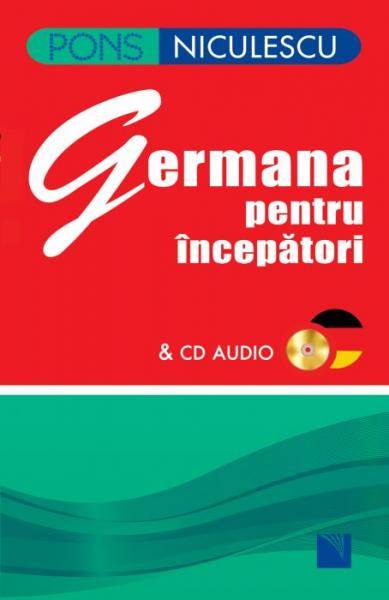 Germana pentru incepatori cu CD de Angelika Lundquist-Mog