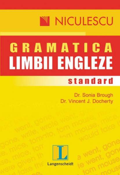 Gramatica limbii engleze standard de Sonia Brough, Vincent J. Docherty 0