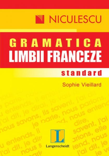 Gramatica limbii franceze standard de Sophie Vieillard 0