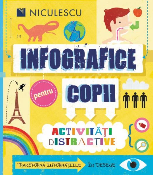 Infografice pentru copii. Activitati distractive de Susan Martineau 0