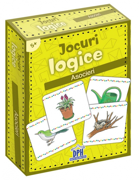 Jocuri logice - Asocieri de Katrin Merle 0
