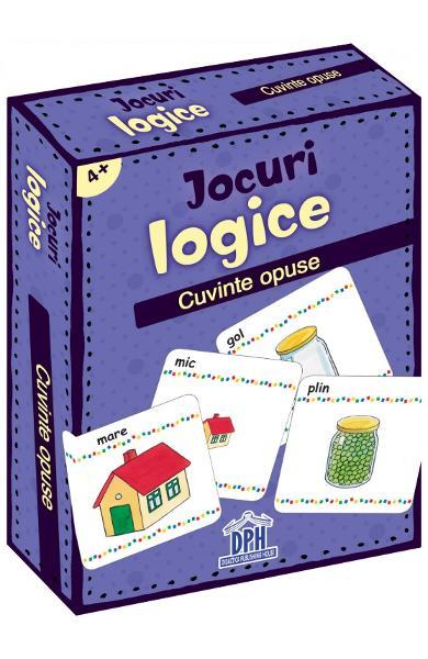 Jocuri logice - Cuvinte opuse 0
