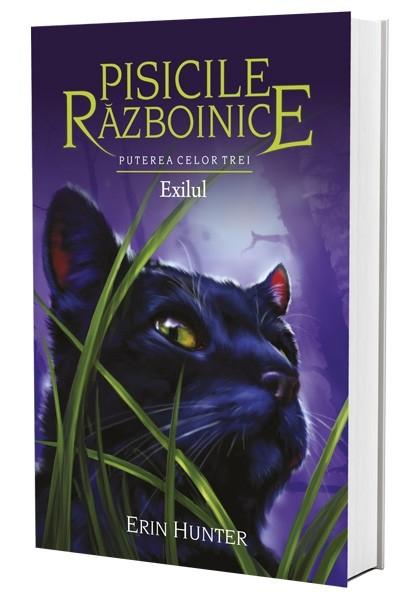 Pisicile Razboinice - Puterea celor trei. Cartea a XV-a: Exilul de Erin Hunter 0