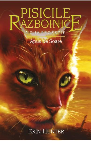 Pisicile Razboinice vol.12: Apus de soare de Erin Hunter 0
