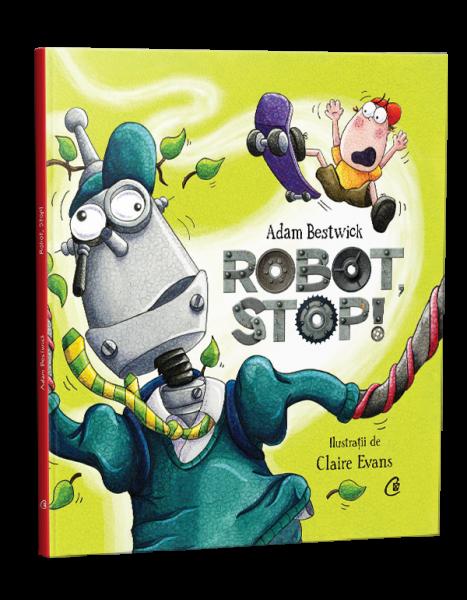 Robot, stop! de Adam Bestwick 0