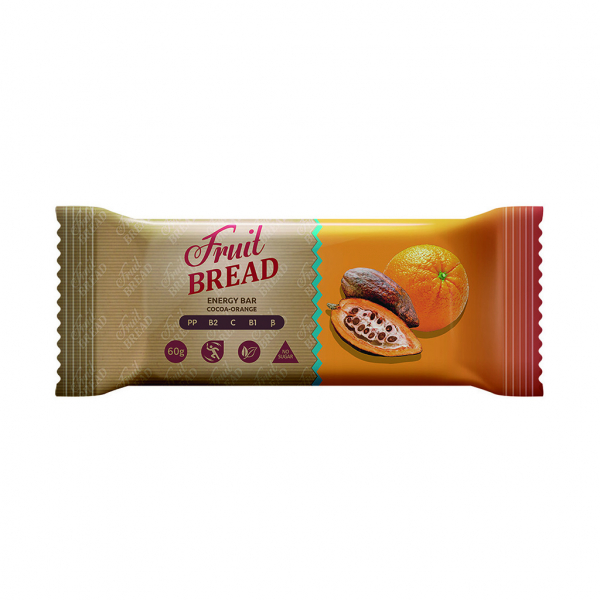 """""""Fruit Bread"""" cacao si portocale, 60g [0]"""