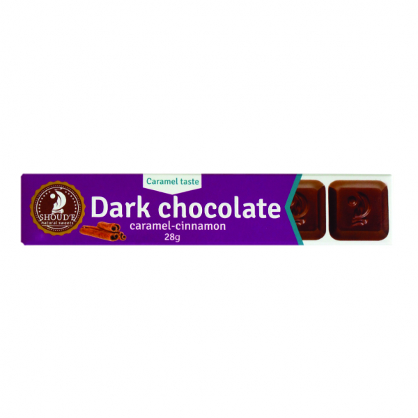Ciocolata neagra cu caramel si scortisoara 0