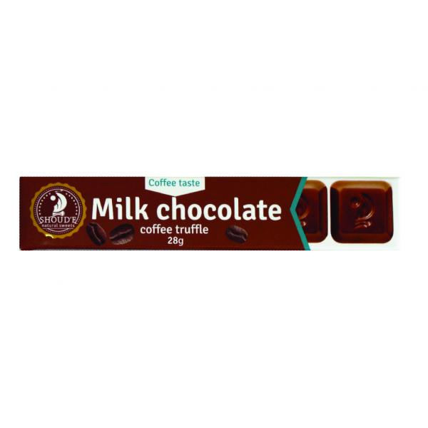 Ciocolata cu lapte si trufe de cafea 0