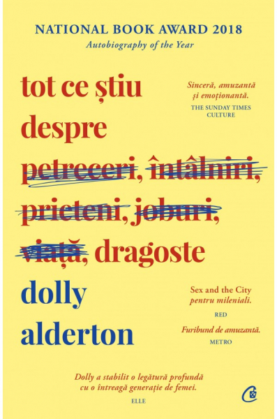 Tot ce stiu despre dragoste de Dolly Alderton 0