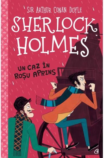Sherlock Holmes - Un caz In rosu aprins 0