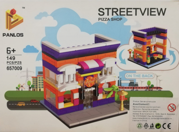 Streetview: Pizza Shop. Set lego Pizzerie [0]