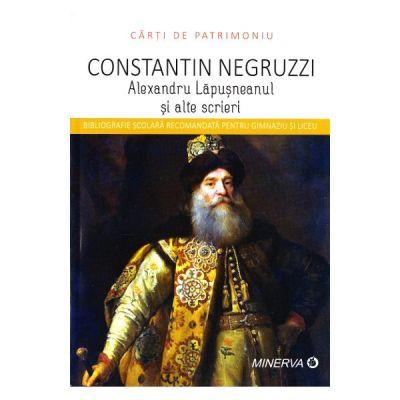 Alexandru Lapusneanul si alte scrieri de Constantin Negruzzi [0]