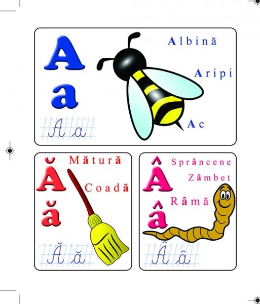 Alfabetul - cartonat 1