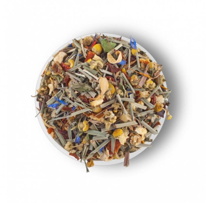 Alpine Herbs  Amestec de ceai verde, maces, plante si petale de flori de la Lovare [1]