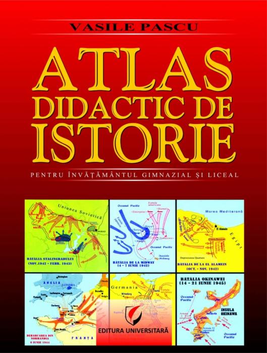 Atlas didactic de istorie, ed. a II-a de Vasile Pascu [0]