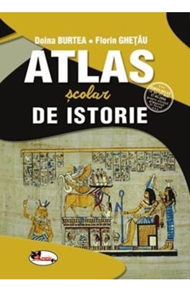 Atlas scolar de istorie de Doina Burtea, Florin Ghetau [0]