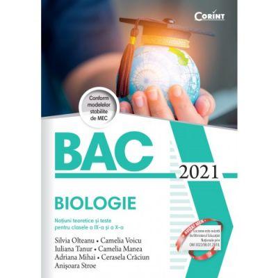Bacalaureat 2021. Biologie - Silvia Olteanu [0]
