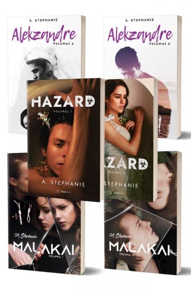 """Pachet """"Alekzandre+Malakai+Hazard"""" de Adina Stephanie 0"""