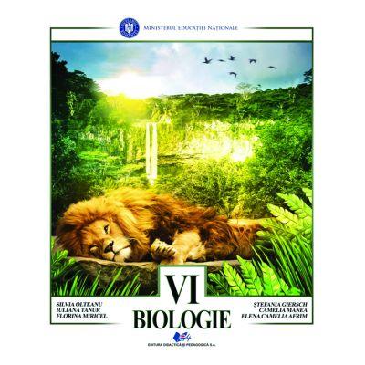 BIOLOGIE- Manual pentru clasa a VI-a de Silvia Olteanu 0