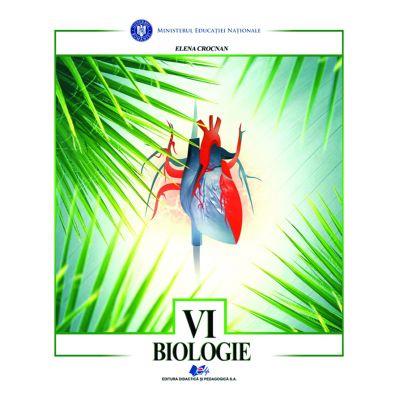 BIOLOGIE-Manual pentru clasa a VI-a de Elena Crocnan 0