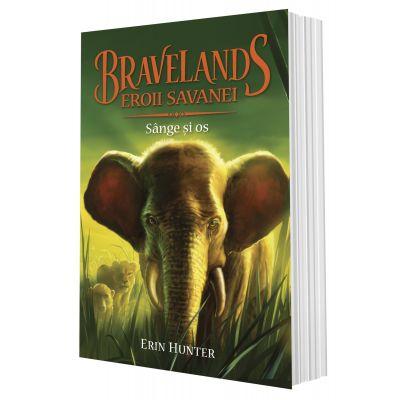 BRAVELANDS – EROII SAVANEI. Vol. III Sange si os de Erin Hunter [0]