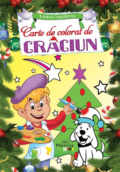 Carte de colorat de Craciun 0