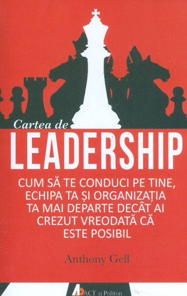 Cartea de leadership de Anthony Gell 0