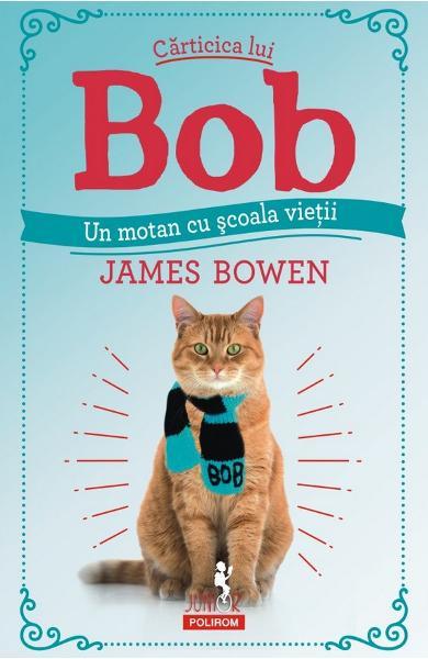 Carticica lui Bob, un motan cu scoala vietii de James Bowen 0
