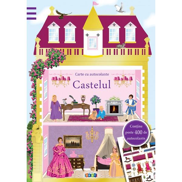 Castelul. Carte cu autocolante 0