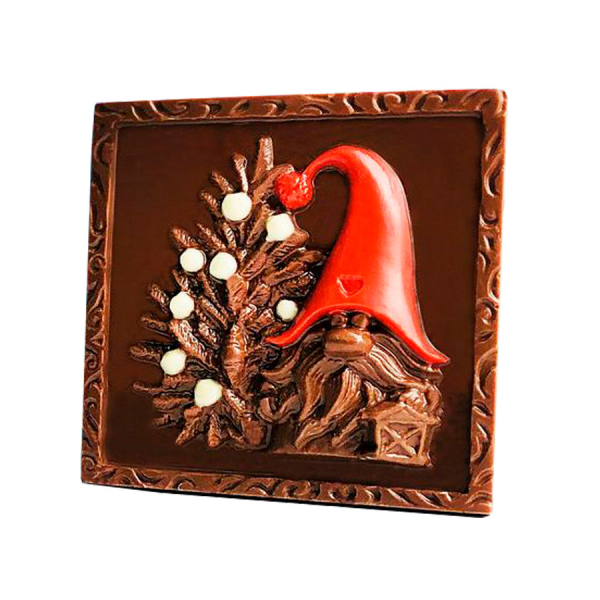 "Ciocolata cu lapte ""Happy Year!"" - SHOUD'E natural sweets [1]"