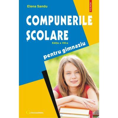 Compunerile scolare de Elena Sandu 0