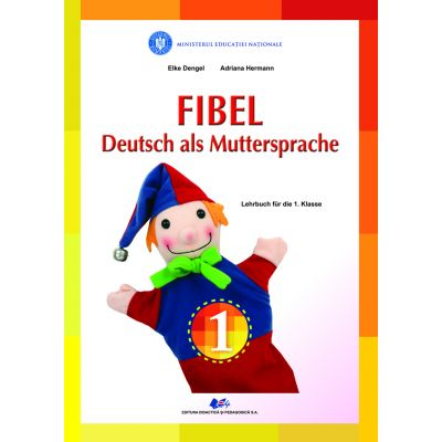 COMUNICARE IN LIMBA MATERNA GERMANA-Manual pentru clasa I de  ELKE DENGEL, ADRIANA HERMANN 0