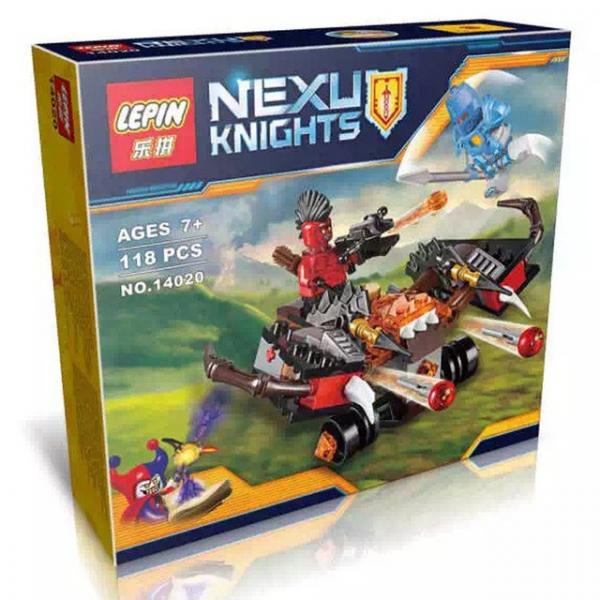 The Glob Lobber - Lepin 14020 - Nexo Knights [0]