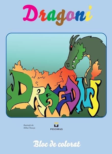 Dragoni - carte de colorat 0