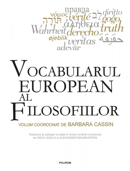 Vocabularul european al filosofiilor 0