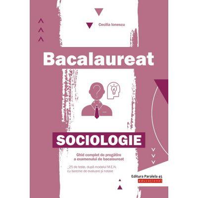 Bacalaureat. Sociologie de Cecilia Ionescu [0]