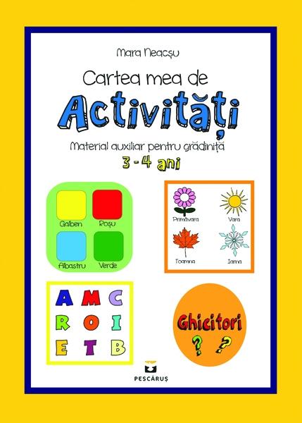 Cartea mea de activitati 3-4 ani 0